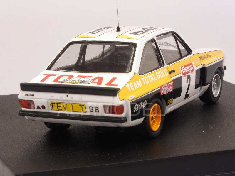 Ford Escort Mk2 RS1800 Tarmac #2 Winner Rally Haspengouw 1980 Wilson - Harrym - trofeu