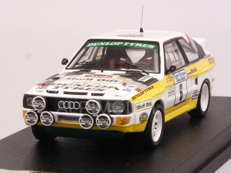 Trofeu 1:43 RRUK24 Harris Audi Sport Quattro Manx Rallye 1985 Wilson