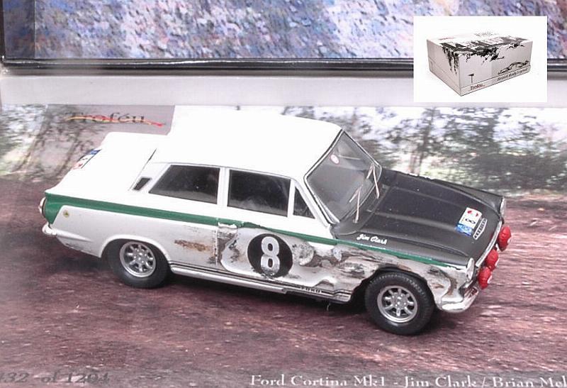 Ford Cortina Mk1 8 RAC Rally 1966 Clark