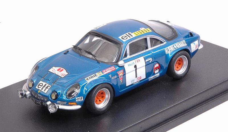 Alpine A110 #1 Rally Portugal 1973 Nicolas - Vial by trofeu