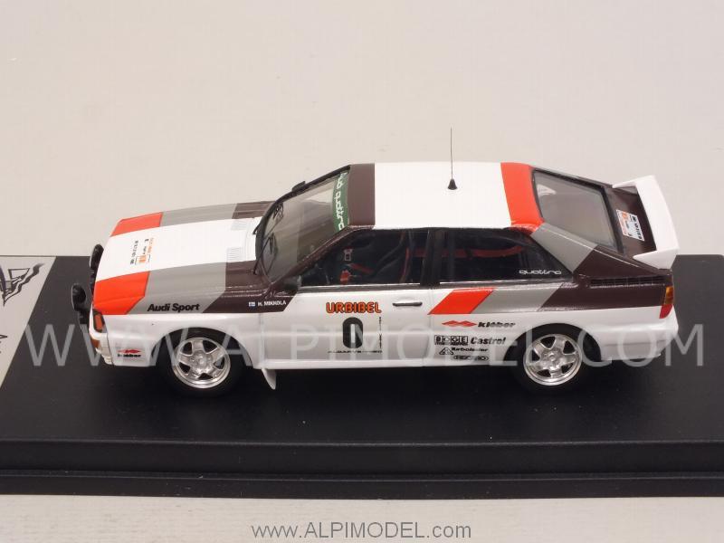 Audi Quattro Rallye Algarve 1980 1:43 Trofeu RRal 035 Mikkola // Hertz