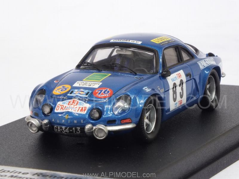 Alpine A110 Renault Rally Portugal 1972 Marques - Arnaud by trofeu
