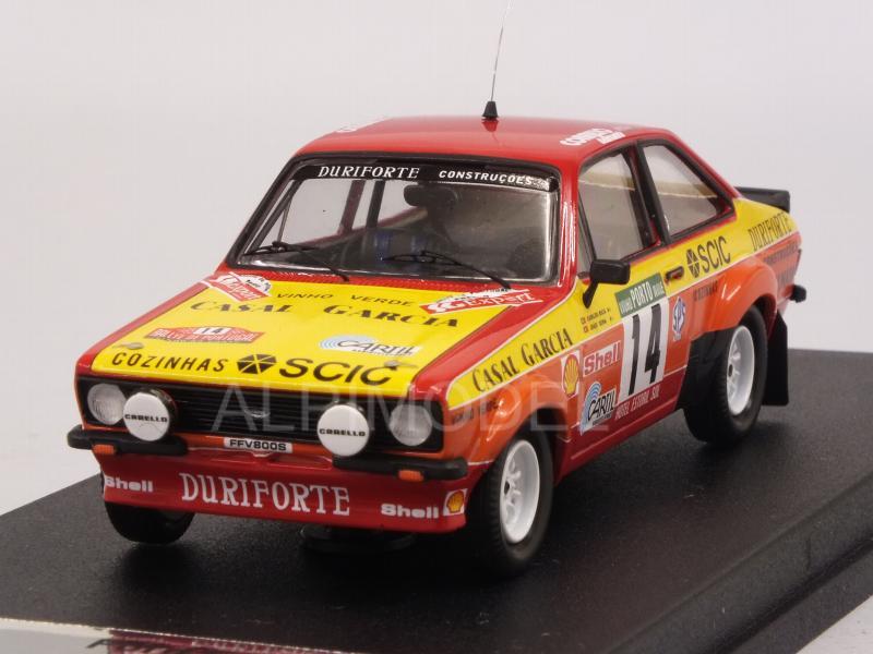 FORD Escort MKII RS 1800 2.0 Rallye New Zealand NZ 1978 #1 Brookes Trofeu 1:43
