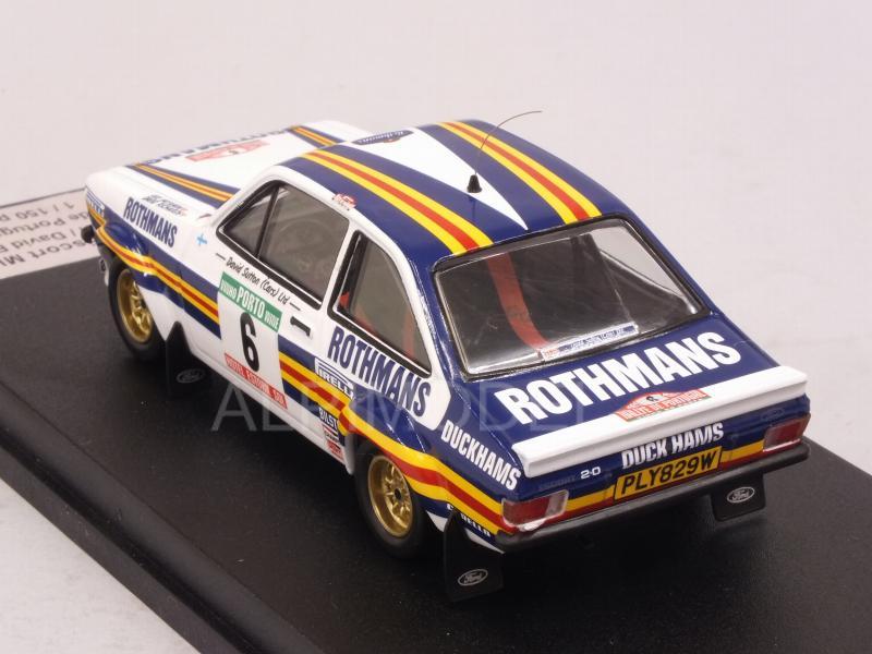 Ford Escort RS 1800 Mk II Rothmans Rallye Portugal 1981 Ari Vatanen 1:43 Trofeu