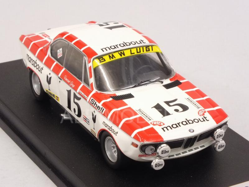 BMW 2800 CS #15 Spa 1972 Gaye - Braillard - trofeu