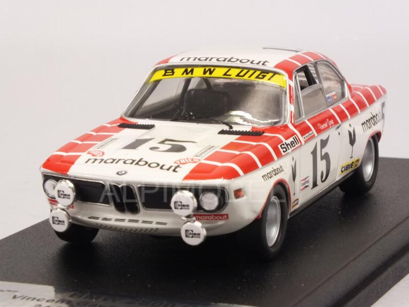 BMW 2800 CS #15 Spa 1972 Gaye - Braillard by trofeu