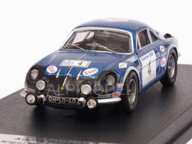Alpine A110 Renault #4 Circuit of Ireland 1971 Hollier - Short by trofeu