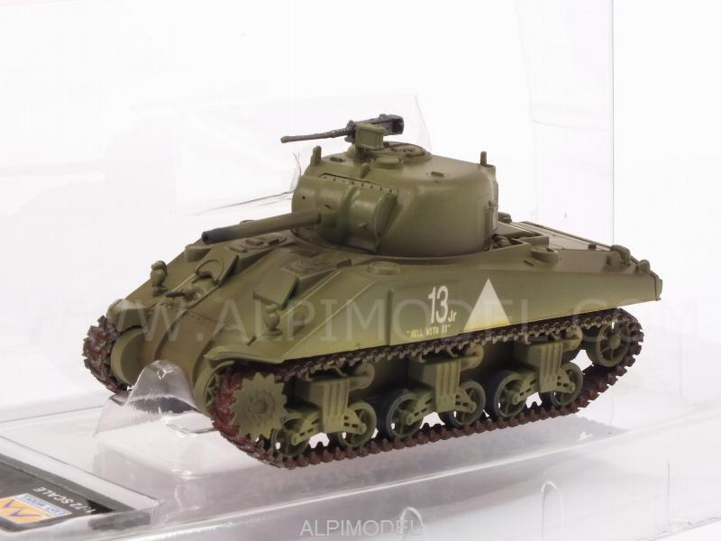 M4 Middle Tank (mid.) 6th Armored Div. by trumpeter