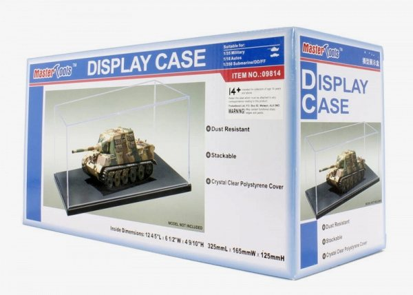 Display case/Vetrinetta 325x165xH125 mm by trumpeter