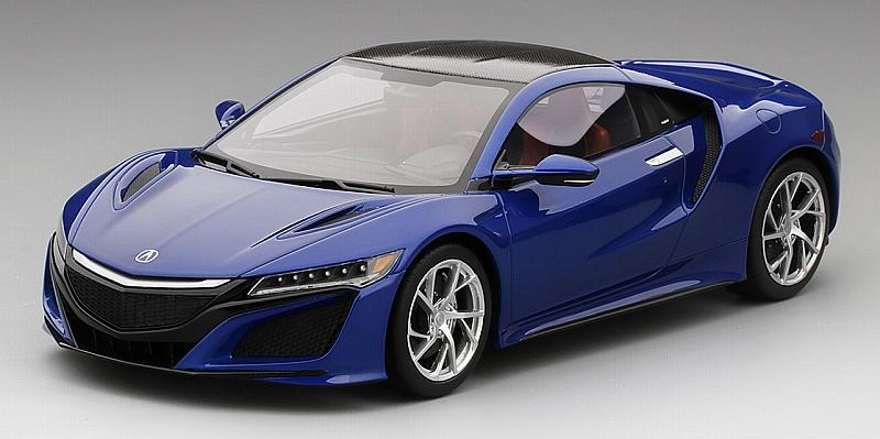 Acura NSX Nouvelle Blue Pearl Top Speed by true-scale-miniatures