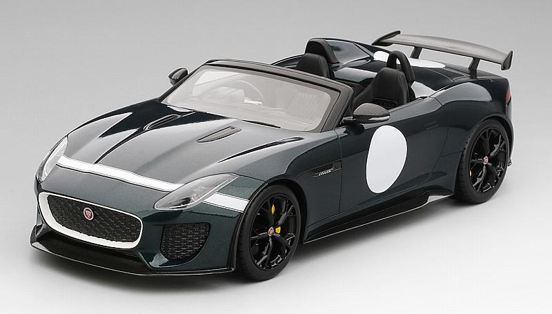 Jaguar F-type Project 7 (British Racing Green) Top Speed Edition by true-scale-miniatures