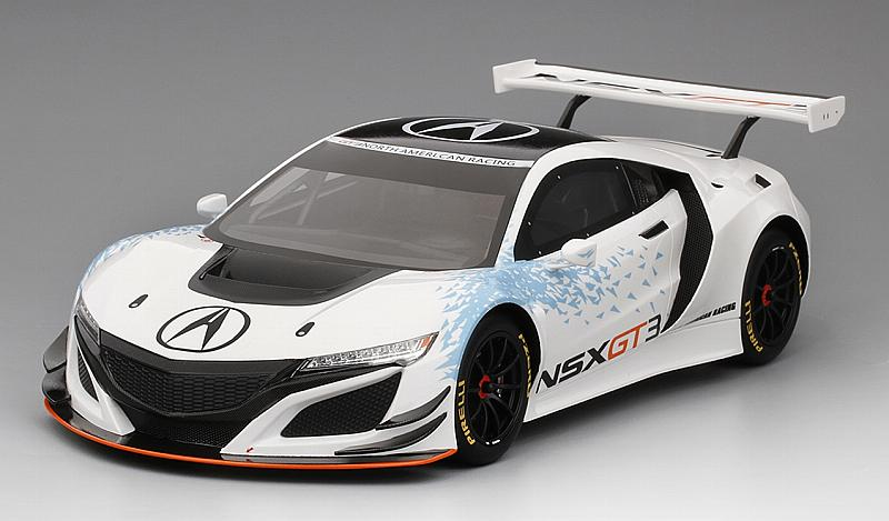 Acura NSX GT3 New York Auto Show 2016 'Top Speed' Edition by true-scale-miniatures
