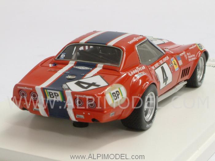 Chevrolet Corvette ZL1 NART #4 Le Mans 1972 Heinz - Johnson - true-scale-miniatures