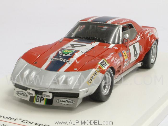 Chevrolet Corvette ZL1 NART #4 Le Mans 1972 Heinz - Johnson by true-scale-miniatures