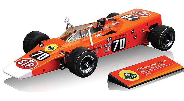 Lotus 56 Turbine #70 Indianapolis 1968 Graham Hill by true-scale-miniatures