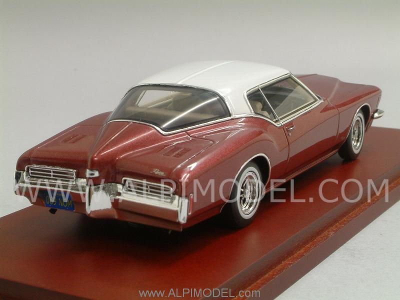 Buick Riviera 1971 (Vintage Red) - true-scale-miniatures