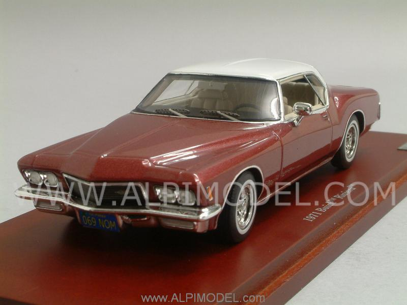 Buick Riviera 1971 (Vintage Red) by true-scale-miniatures