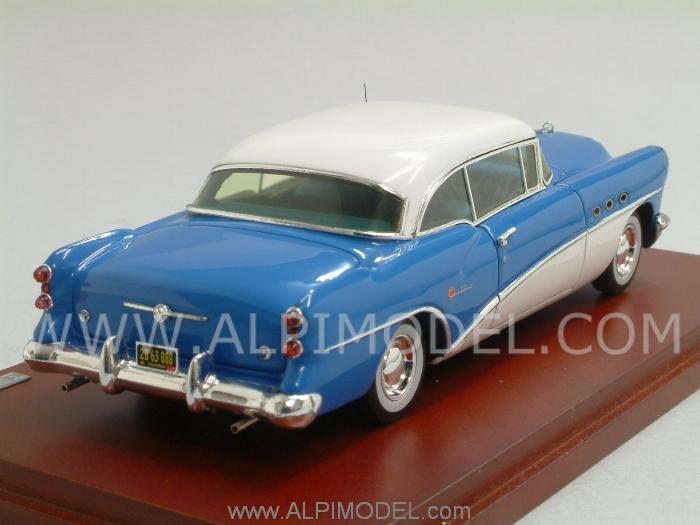 Buick Century Coupe 1954 (Blue/White) - true-scale-miniatures