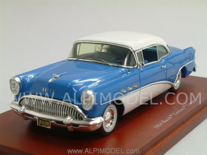 Buick Century Coupe 1954 (Blue/White) by true-scale-miniatures