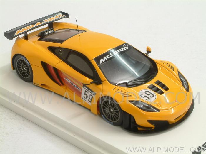 TRUE-SCALE-MINIATURES TSM114358 McLaren MP4/12C GT3 Presentation ...
