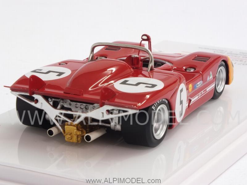 Alfa Romeo 33//3 #5 Winner Targa Florio 1971 Vaccarella Hezemans 1:43 Model