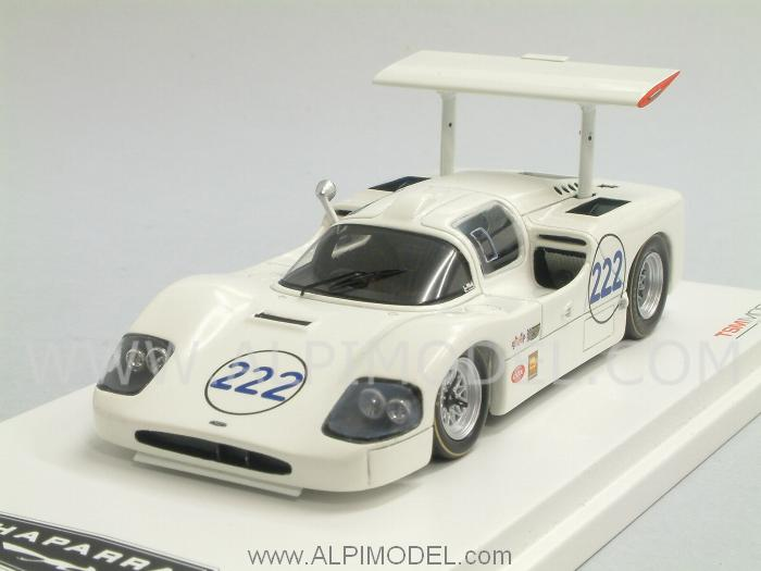 Chaparral 2F #222 Targa Florio 1967 Phil Hill - Sharp by true-scale-miniatures