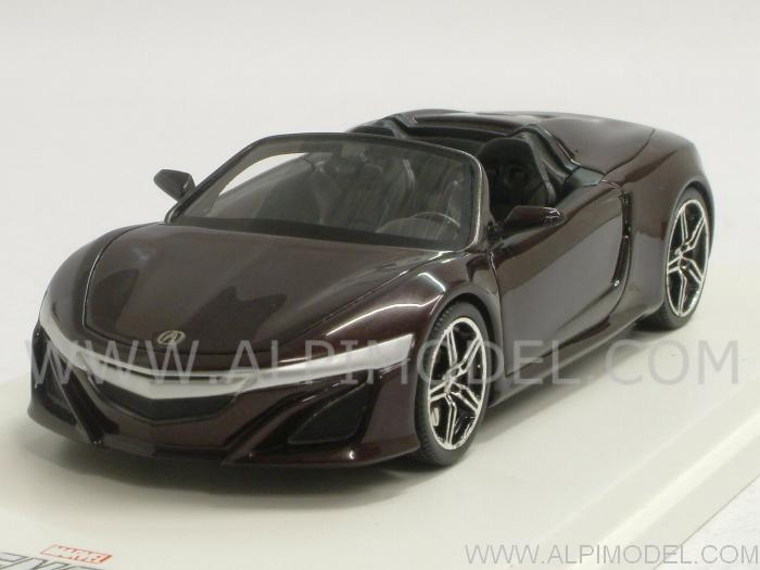 Acura NSX Roadster 2012 The Avengers -  Ironman Tony Stark by true-scale-miniatures