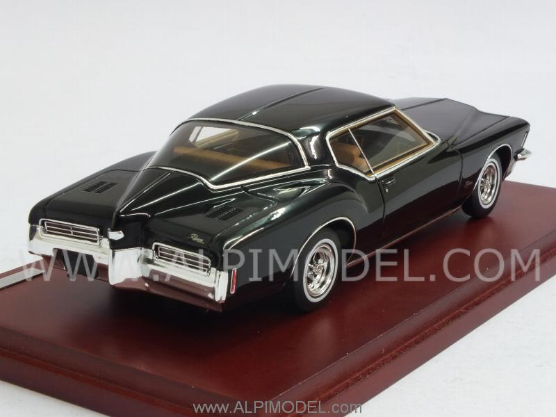 Buick Riviera 1971 (Black) - true-scale-miniatures