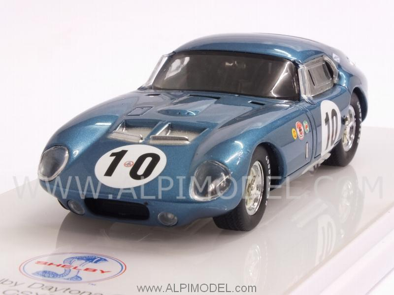 Shelby Daytona Coupe #10 CSX2287 1st GT Class 12h Sebring 1964 Holbert - MacDonald by true-scale-miniatures