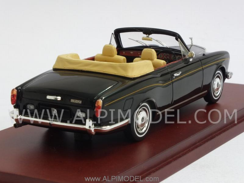 Rolls Royce Corniche Convertible 1971 (Black) - true-scale-miniatures