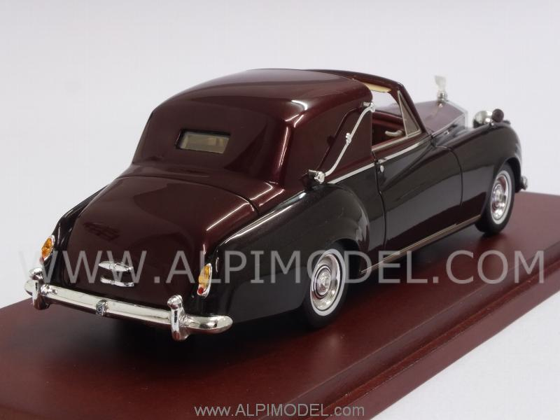 Rolls Royce Silver Cloud I Sedanca Coupe James Young 1958 - true-scale-miniatures