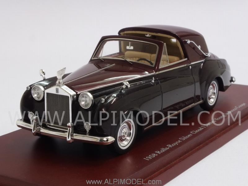 Rolls Royce Silver Cloud I Sedanca Coupe James Young 1958 by true-scale-miniatures