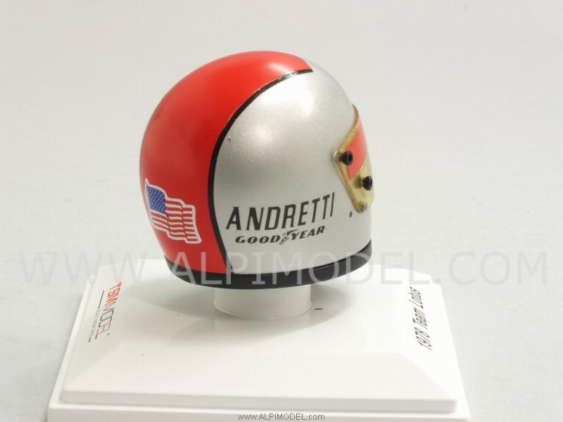 Helmet Mario Andretti 1978 Lotus - true-scale-miniatures