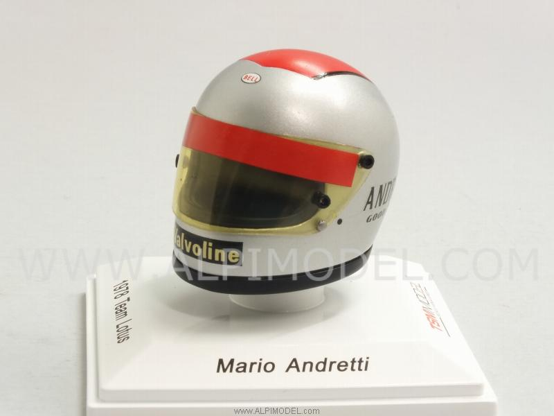 Helmet Mario Andretti 1978 Lotus by true-scale-miniatures