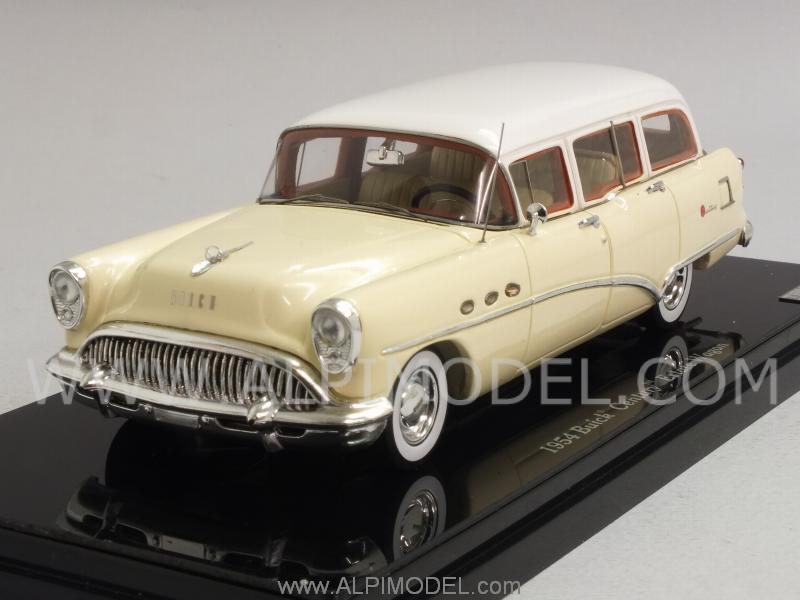 True Scale Miniatures Buick Century Estate Wagon 1954 Tan