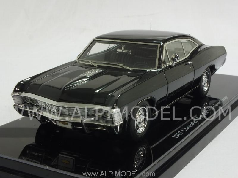 True Scale Miniatures Tsm144323 Chevrolet Impala Ss Coupe 1967 Tuxedo Black 1 43