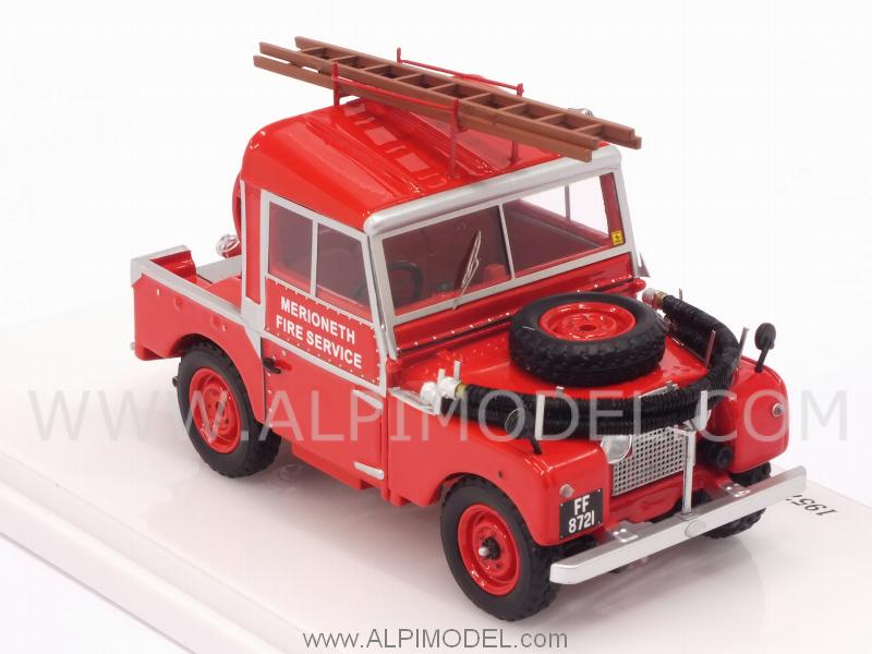 Land Rover Serie I 88 Fire Appliance - true-scale-miniatures