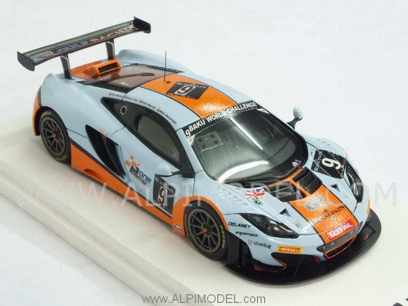 McLaren MP4/12C GT3 #9 Gulf 24h Spa 2013 Wainewright - Mayrick - Hall - true-scale-miniatures