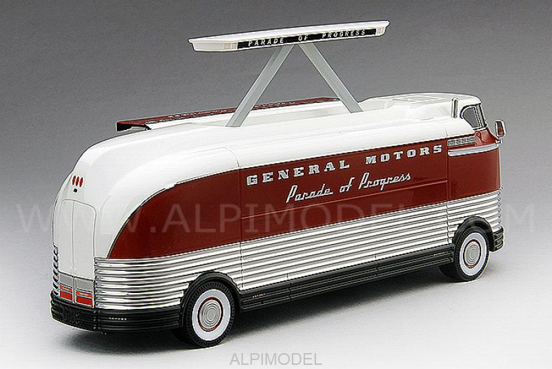 GM Futurliner Three Dimensional Sound GM Parade of Progress 1954 - true-scale-miniatures