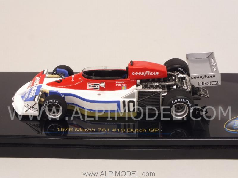 March 761 #10 GP Netherlands 1976 Ronnie Peterson - true-scale-miniatures