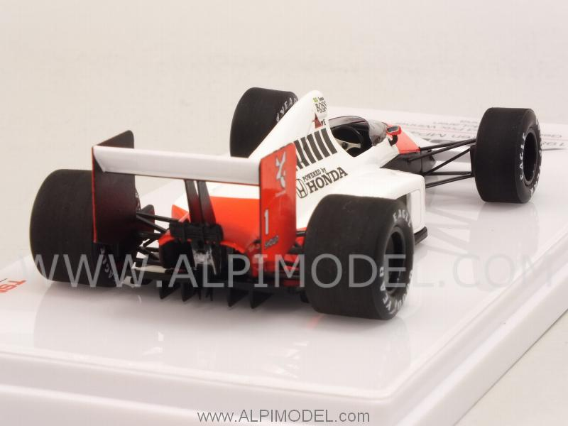 McLaren MP4/5 #1 Winner GP Germany 1989 Ayrton Senna - true-scale-miniatures