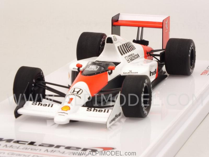 McLaren MP4/5 #1 Winner GP Germany 1989 Ayrton Senna by true-scale-miniatures