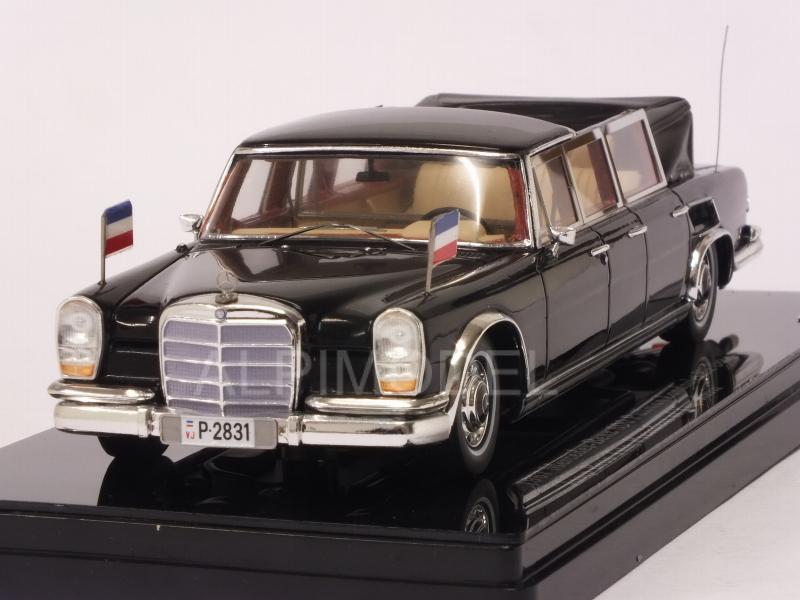 Mercedes 600 Pullman Landaulet Six-doors1967 Josip Broz Tito President of Yugoslavia by true-scale-miniatures