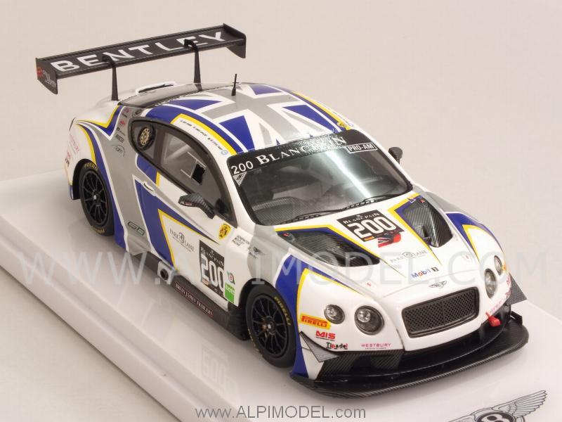 True Scale Miniatures Bentley Gt3 200 Blancpain Endurance