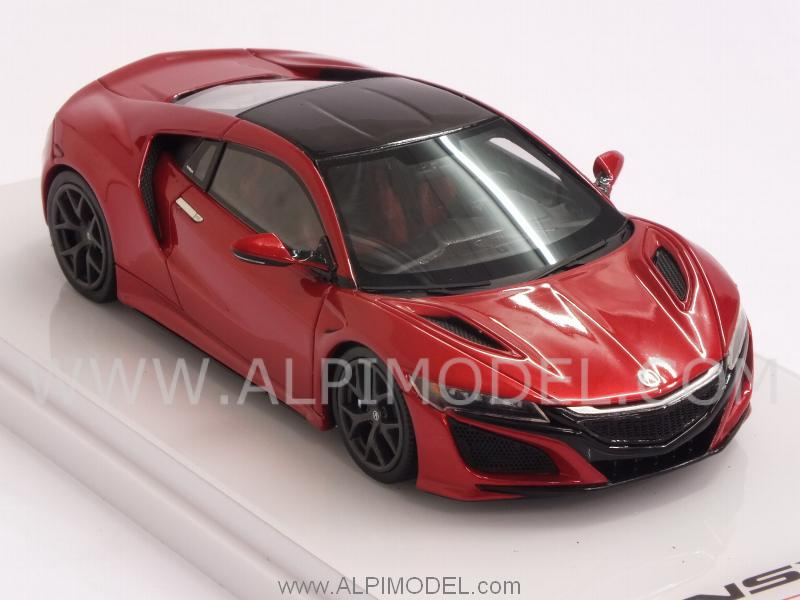 Acura NSX  North American International Auto Show 2015 (red Metallic) - true-scale-miniatures