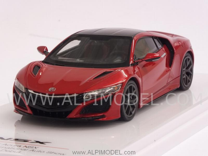 Acura NSX  North American International Auto Show 2015 (red Metallic) by true-scale-miniatures