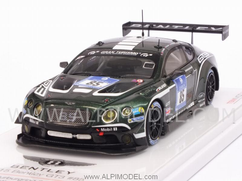 Bentley Contiental GT3 #85 24h Nurburgring 2015 Smith - Meyrick - Kane - Arnold by true-scale-miniatures