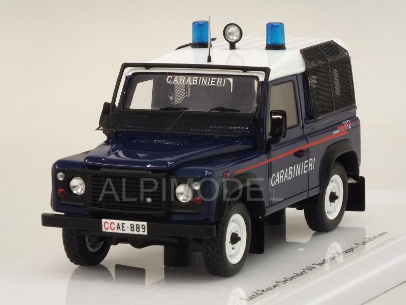 TSM 1:43 Land Rover Defender 90 Police Car Model