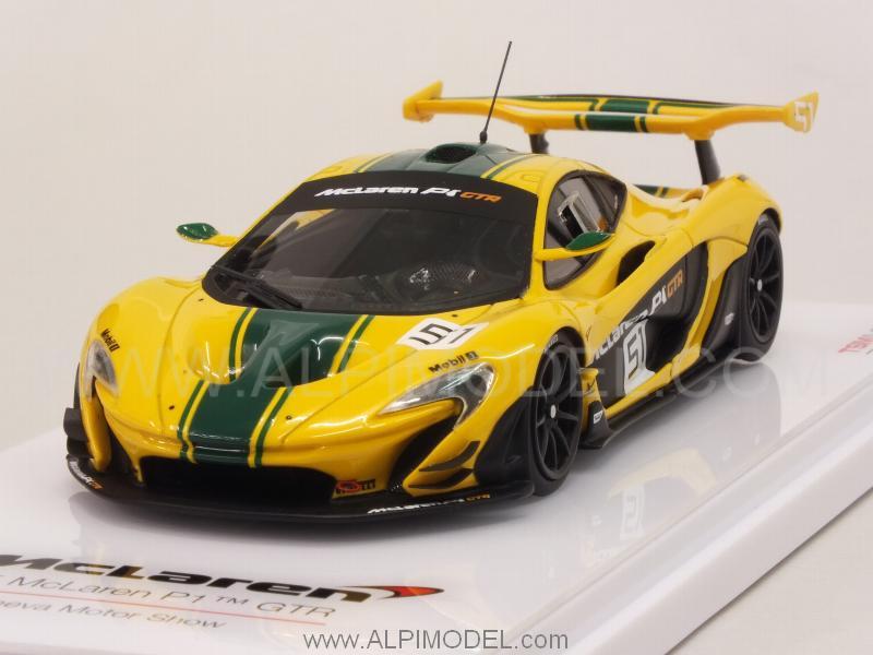 true-scale-miniatures McLaren P1 GTR Geneva Motor Show ...