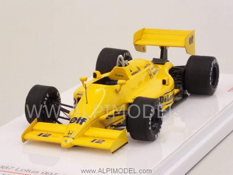 Lotus 99T Honda #12 GP San Marino 1987 Ayrton Senna by true-scale-miniatures